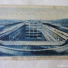 Postales: POSTAL ITALIA. OFICINAS FIAT. PISTA DE PRUEBAS. AÑOS 1920/30. Lote 62588648