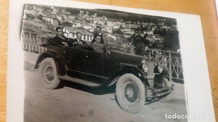 ANTIGUA TARJETA POSTAL FOTOGRÁFICA DE UN AUTOMOBIL (Postales - Postales Temáticas - Coches y Automóviles)