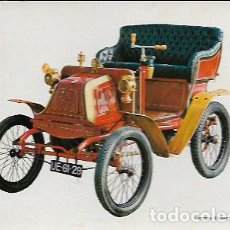 Postales: POSTAL COCHE GEORGES RICHARD 3,5 HP ,. 1900 *. Lote 208254913