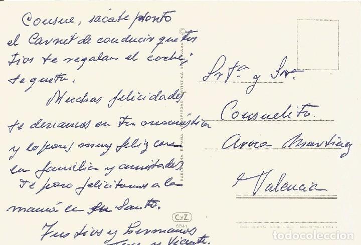 Postales: ** PN977 - POSTAL - COCHE ANTIGUO - BRIXIA ZUST1908 HP - RF. P00 - Foto 2 - 68404033
