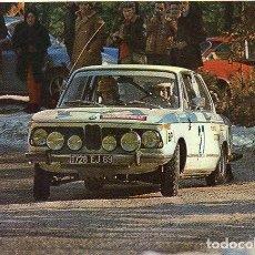 Postales: SERIE AUTOMÓVILES RALLYE - 1 BMW 2002 TI. Lote 68757705