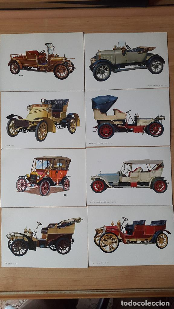 LOTE 12 POSTALES COCHES CLASICOS DE ÉPOCA - VER FOTO ADICIONAL (Postales - Postales Temáticas - Coches y Automóviles)
