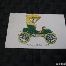 Postales: POSTAL DE COCHE DE EPOCA STUDEBAKER ELCTRIC LA DE LA FOTO VER TODOS MIS LOTES DE POSTALES. Lote 76740691