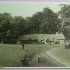 Postales: POSTAL LYNDHURST SWAN GREEN COCHE. Lote 79923397