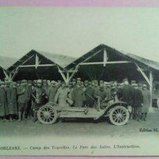 Postales: POSTAL FRANCIA ORLEANS CAMP DES TOURELLES. LE PARC DES AUTOS COCHE. Lote 79923807