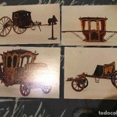 Postales: LOTE POSTALES MUSEO DE LOS COCHES . Lote 85568348