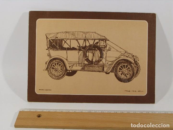 Postales: LOTE 12 POSTALES COCHES ANTIGUOS - Foto 4 - 86448152