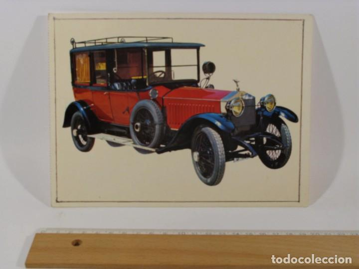 Postales: LOTE 12 POSTALES COCHES ANTIGUOS - Foto 8 - 86448152