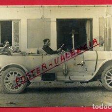 Postales: POSTAL FOTO FOTOGRAFIA COCHE AUTOMOVIL ANTIGUO , ORIGINAL, P87202. Lote 87344348