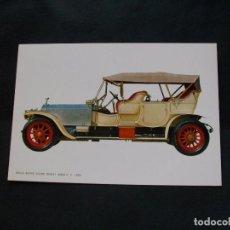 Postales: PRECIOSA POSTAL - COCHE - ROLLS ROYCE .SILVER GHOST-1909 -LA DE LA FOTO VER TODAS MIS POSTALES. Lote 87417328