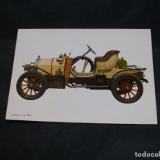 Postales: PRECIOSA POSTAL - COCHE - HUMBER.-1909 -LA DE LA FOTO VER TODAS MIS POSTALES. Lote 87419024