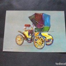 Postales: PRECIOSA POSTAL - COCHE - FIAT 3 .-1899 -LA DE LA FOTO VER TODAS MIS POSTALES. Lote 87419432