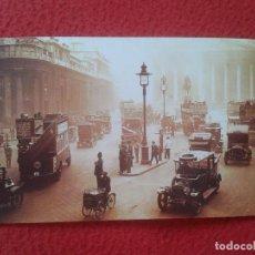 Postales: POSTAL POST CARD THE NOSTALGIA POSTCARD, VINTAGE 1922 LONDON LONDRES ESCENA DE TRÁFICO TRAFFIC SCENE. Lote 87713712