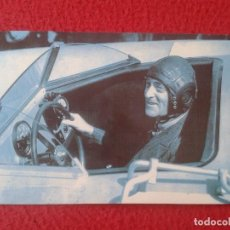 Postales: POSTAL POST CARD THE NOSTALGIA POSTCARD, VINTAGE 1947 SIR MALCOLM CAMPBELL BLUEBIRD PILOTO CAR COCHE. Lote 87719836