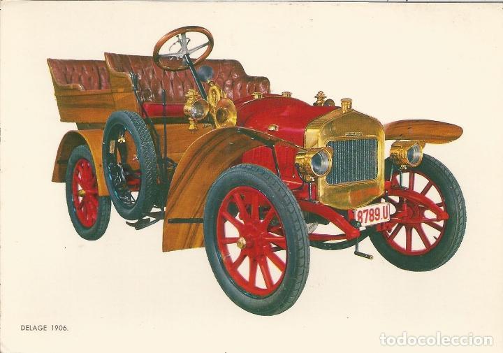 POSTAL COCHES DE EPOCA - DELAGE 1906 - EDITA CYZ 6807/31B - S/C (Postales - Postales Temáticas - Coches y Automóviles)