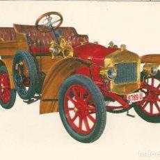 Postales: POSTAL COCHES DE EPOCA - DELAGE 1906 - EDITA CYZ 6807/31B - S/C. Lote 91752150