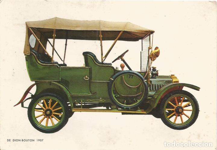 POSTAL COCHES DE EPOCA - DE DION BOUTON 1907 - EDITA CYZ 6673/31D - S/C (Postales - Postales Temáticas - Coches y Automóviles)