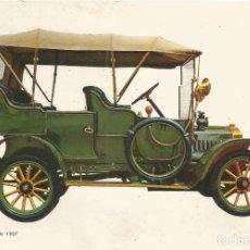 Postales: POSTAL COCHES DE EPOCA - DE DION BOUTON 1907 - EDITA CYZ 6673/31D - S/C. Lote 91753630