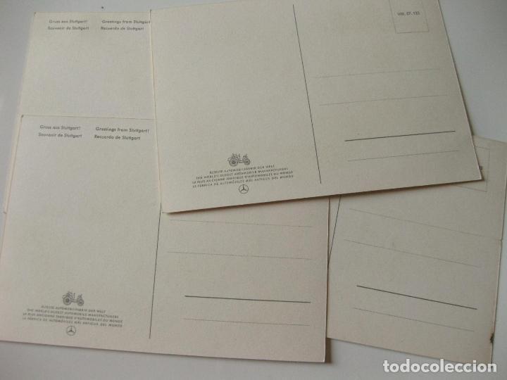 Postales: 4 POSTALES DIFERENTES Y PUBLICITARIAS DE MERCEDES BENZ - Foto 3 - 93220300