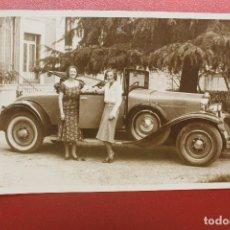 Postales: POSTAL FOTOGRÁFICA AUTOMÓVIL LA SALLE, MATRÍCULA MADRID. Lote 95431659