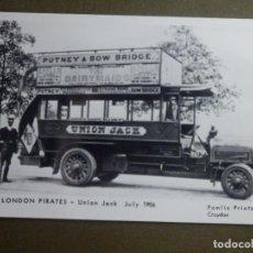 Postales: POSTAL - TRANVIAS - LONDON PIRATES - M2311 - UNIÓN JACK - JULY 1906 - PAMLIN PRINTS CROYDON - NE-NC. Lote 95782495