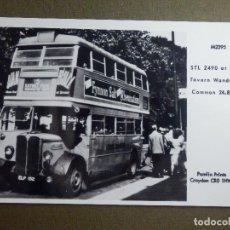 Postales: POSTAL - COCHES EPOCA - STL 2490 AT SURREY - M2395 - 24-8-1947 - PAMLIN PRINTS CROYDON - NE-NC. Lote 95782547