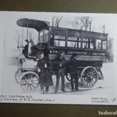 Postales: POSTAL - COCHES EPOCA - EARLY CHATHAM BUS - M880 - - PAMLIN PRINTS CROYDON - NE-NC. Lote 95782587