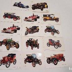 Postales: LOTE 14 POSTALES DE VARIOS COCHES VETUSTOS (SIN CIRCULAR). Lote 95878443