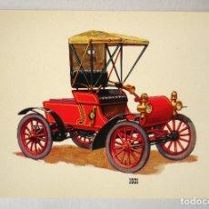 Postales: POSTAL BV COCHE ANTIGUO 1901. Lote 97361295