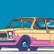 Postales: POSTAL PUBLICITARIA COCHE FIAT 127. Lote 98027695