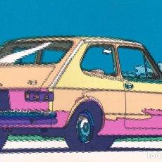 Postales: POSTAL PUBLICITARIA COCHE FIAT 127. Lote 98027755
