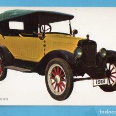 Postales: POSTAL DE COCHES ANTIGUOS OVERLAND AÑO 1918 EDITÓ BV SIN CIRCULAR . Lote 98038807