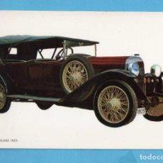 Postales: POSTAL DE COCHES ANTIGUOS SUPER DELAGE AÑO 1923 EDITÓ BV SIN CIRCULAR . Lote 98038931