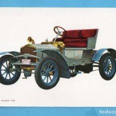 Postales: POSTAL DE COCHES ANTIGUOS SIZAIRE & NAUDIN AÑO 1906 EDITÓ CYZ SIN CIRCULAR . Lote 98039023