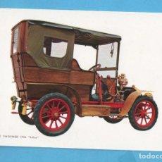 Postales: POSTAL DE COCHES ANTIGUOS MARTIN LÉ TIMONNIER AÑO 1904 EDITA CYZ SIN CIRCULAR . Lote 98039147