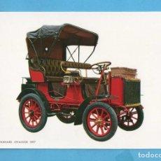 Postales: POSTAL DE COCHES ANTIGUOS DAIMLER PANHARD LEVASSOR AÑO 1897 EDITA CYZ SIN CIRCULAR . Lote 98039287