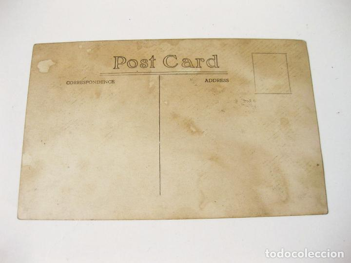 Postales: FOTOGRAFIA POSTAL DE LOS AÑOS 20 DE UN FORD T PHAETON - Foto 2 - 98569451