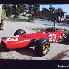 Postcards - COCHES-V42- ESCRITA-FERRARI DINO-FORMULA 2-CHRIS AMON-ITALIA-MONTJUICH 1968 - 99546107