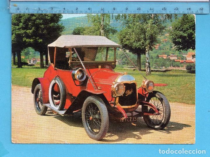 POSTAL DEL MUSEO DE AUTOMÓVIL FACTORÍA FRANCESA CIRCULADA AÑO 1965 (Postales - Postales Temáticas - Coches y Automóviles)