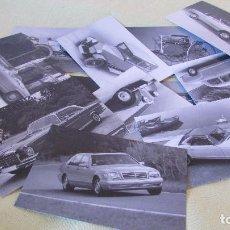 Postales: 12 POSTALES COCHES MERCEDES BENZ - ENTRE EN NUESTRO MUNDO. Lote 100079063