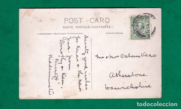 Postales: antigua postal coche de epoca años 20 - Foto 2 - 101512567