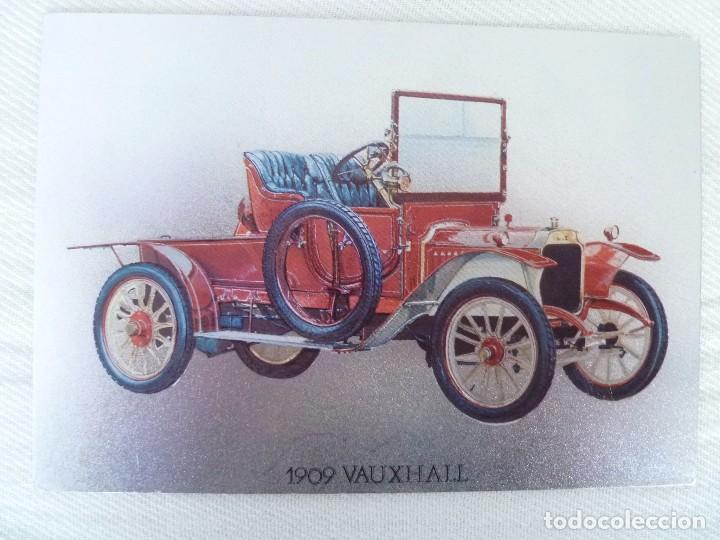 POSTAL METALIZADA DUFEX DE COCHE 1909 VAUXHALL. NO CIRCULADA (Postales - Postales Temáticas - Coches y Automóviles)