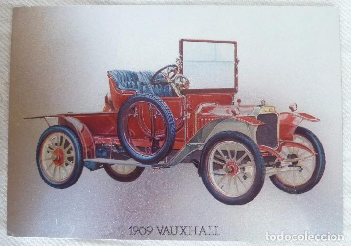 Postales: POSTAL METALIZADA DUFEX DE COCHE 1909 VAUXHALL. NO CIRCULADA - Foto 2 - 101711351