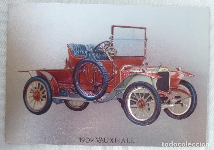 Postales: POSTAL METALIZADA DUFEX DE COCHE 1909 VAUXHALL. NO CIRCULADA - Foto 3 - 101711351