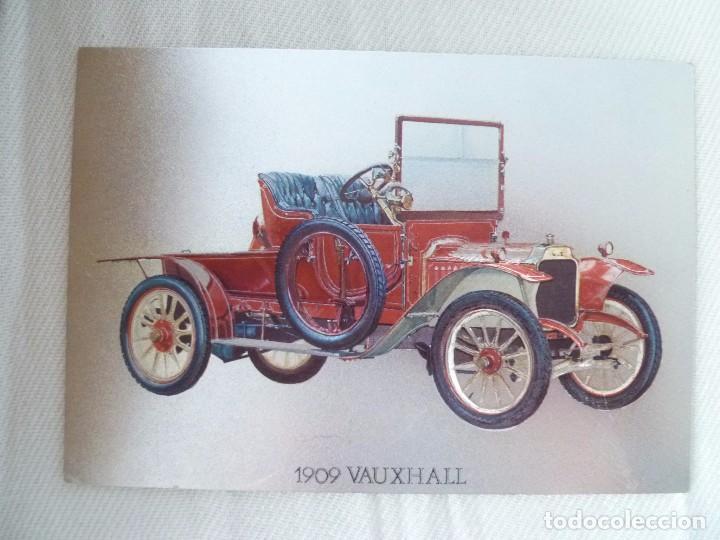 Postales: POSTAL METALIZADA DUFEX DE COCHE 1909 VAUXHALL. NO CIRCULADA - Foto 4 - 101711351