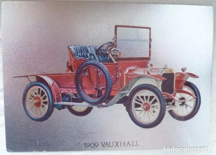 Postales: POSTAL METALIZADA DUFEX DE COCHE 1909 VAUXHALL. NO CIRCULADA - Foto 5 - 101711351