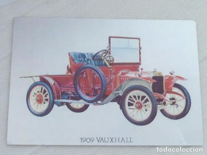 Postales: POSTAL METALIZADA DUFEX DE COCHE 1909 VAUXHALL. NO CIRCULADA - Foto 6 - 101711351