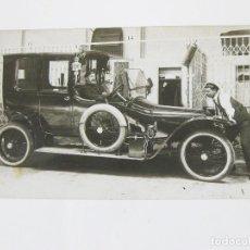 Postales: POSTAL FOTOGRÁFICA DE UN AUTOMOVIL DE MARCA DESCONOCIDA. Lote 101952291