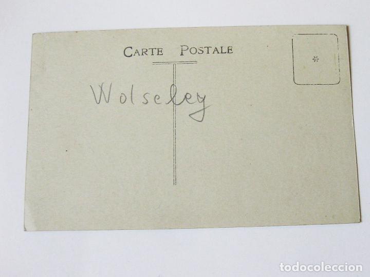Postales: ANTIGUA POSTAL FOTOGRÁFICA DE UN AUTOMOVIL DE MARCA WOLSELEY - Foto 2 - 101952339