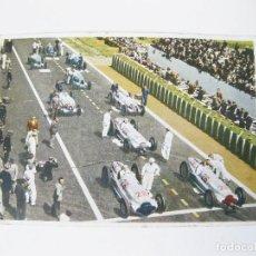 Postales: POSTAL ALEMANA DEL GRAN PREMIO DE FRANCIA MERCEDES BENZ DE 1938. W154 FRENCH RACING CAR. Lote 101953899